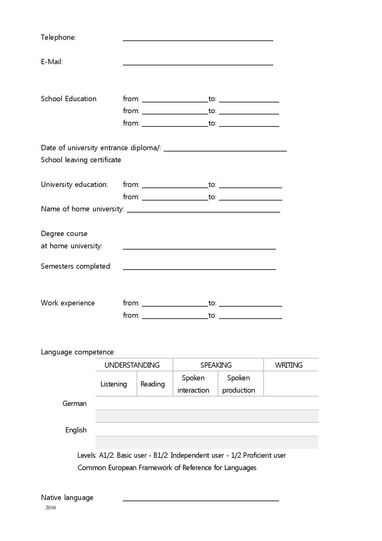 Admission Requirements Westfälische Hochschule